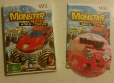 Monster Trucks 4X4 World Circuit (Wii) Nintendo Wii U PAL  Complete - Free Post!