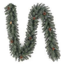Holiday Christmas Indoor Outdoor Elegant Decor Scottsdale Pine Garland 9 ft New