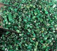 Natural 2-3 mm Colombian Green Emerald Gemstone Rough Unsearched Lot