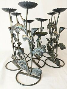 7 X Decorative Metal Stands