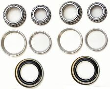 Front Wheel Bearing & Race & Seal Kit For 1961-1965 FORD FALCON SEDAN DELIVERY