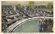 1920s Morrison Hotel Restaurant Terrace Garden ice skating Chicago Illinois 575