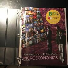Microeconomics by Paul Krugman and Robin Wells (2013, Paperback, Revised)