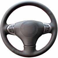 Top Leather Steering Wheel Hand-stitch on Wrap Cover For Suzuki Grand Vitara