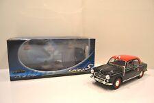 """Solido Prestige 1/18. Peugeot 403 1965 berline 5P.""""Taxi parisien G7"""". Réf. 8194."""
