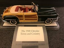 Franklin Mint Precision Models 1948 Chrysler Town and Country LOOK! Diecast 1:24