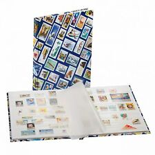 Stamp Collection Album Stockbook 16 White Pages Glassine Strips Interleave Hobby