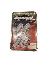 4x AQUAPEL Applicator Windshield Glass Treatment Water Rain Repellent Repels NEW