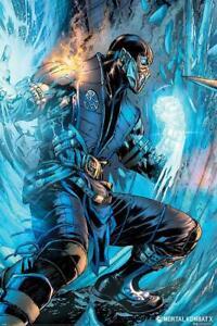 NEW Mortal Kombat Sub Zero maxi wall poster 61cm X 91cm pp34884 81