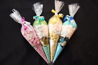 Personalised Themed Pre Filled Sweet Cones Birthday Party Bag - FREE DELIVERY