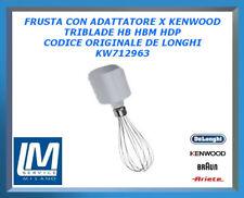 FRUSTA CON ADATTATORE X KENWOOD TRIBLADE HB HBM HDP KW712963 DE LONGHI ORIGINALE