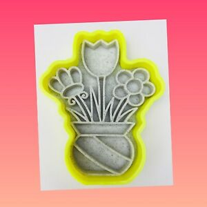 Flower Pot Vase Cookie Cutter