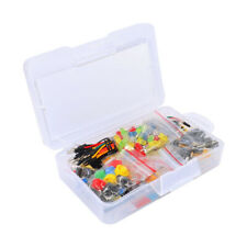 Electronics Starter Kit For Arduino Resistor Buzzer Breadboard+Storage Box