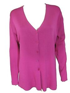 Sale: fuchsia pink pullover striped long sleeved top with lace and embellishments free size