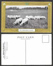 Old Canada Postcard - Montreal Gazette Christmas Greetings - Shepherd's Flock
