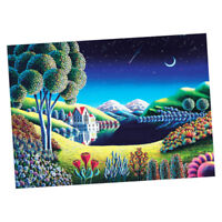 1000 Piece Jigsaw Puzzle for Adults Kids Gift - Educational Toy - Midnight