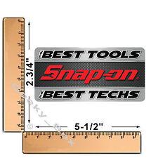 Snap on tools las mejores herramientas los mejores técnicos Caja de herramientas Decal Sticker