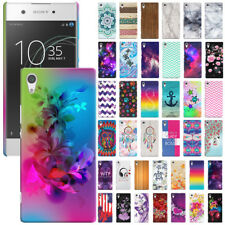 "For Sony Xperia XA1 5"" Phone Various Design Protector Hard Back Case Cover Skin"