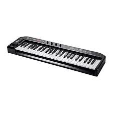 49-Key MIDI Keyboard Controller - Black