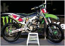 MONSTER ENERGY KAWSAKI KXF450 POSTER RYAN VILLOPOTO MOTOCROSS FOLDED fathead