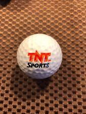 PING GOLF BALL/S-WHITE PING ZING #1...TNT SPORTS LOGO....9/10