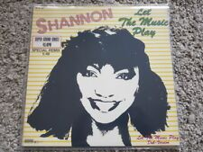Shannon - Let the music play 12'' Disco Vinyl GERMANY