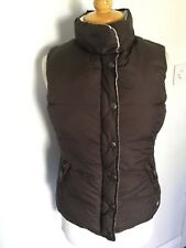 Crew Clothing Ladies Reversible Duck Feather Gilet Size 10. Great Condition.
