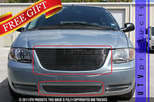 GTG 2005 - 2007 Chrysler Town and Country 2PC Polished Billet Grille Grill Kit