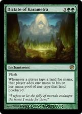 DICTATE OF KARAMETRA Journey into Nyx MTG Green Enchantment RARE