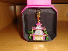 NEW JUICY COUTURE PAGODA CHARM FOR BRACELET, NECKLACE, HANDBAG, KEYCHAI
