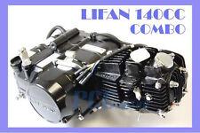 LIFAN 140CC ENGINE MOTOR 4 UP + OIL COOLER DIRT BIKE 107 125CC I EN22-COMBO