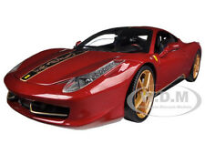 FERRARI 458 ITALIA ELITE CHINA EDITION 1/18 DIECAST MODEL CAR BY HOTWHEELS BCK12