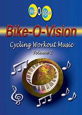 Bike-O-Vision Cycling Workout Music CD, Volume 2