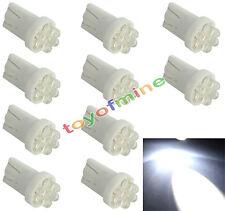 10x 194 168 T10 501 W5W 4 lado del coche del LED Luz cuña del bulbo lámpara 12V