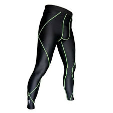 Small Compression Skins Long Pant   Gym Cycling Running Exercise Sport Bikes