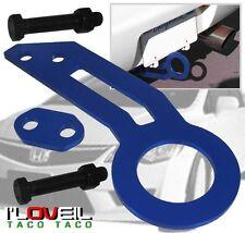 92-96 97-01 HONDA PRELUDE ACCORD JDM REAR TOW HOOK HAULING KIT ANODIZED BLUE