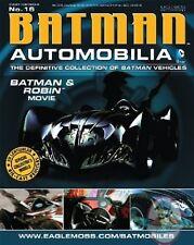 Dc Batman Automobilia Figurine #16 Batman & Robin Movie Eaglemoss