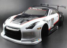 1/10 Onroad Rc Car 200mm Body Shell For Traxxas 4tec Kyosho Fazer Thunder Ts4n