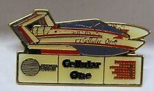 1987 MISS CELLULAR ONE hydroplane boat racing tack pinback pin