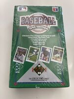1990 UPPER DECK BASEBALL  FACTORY SEALED WAX BOX - 36 Sealed Packs