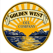 Golden West Reproduction Motor Oil Sign