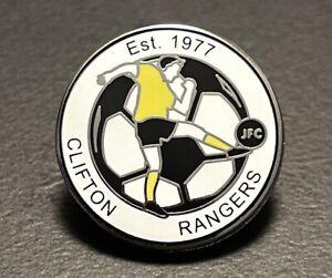 Clifton Rangers JFC Non-League football pin badge