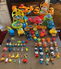 Large Octonauts Toy Bundle Playset Figures Gups Vehicles Octopod Octo Compass