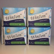 WinIon - Winalite Intl. Sanitary Napkin: Day 4 pack x 8 pads