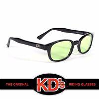 KD's Black Frame Green Lens Sunglasses Harley Davidson ASO Sons of Anarchy