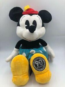Mickey Mouse 90 Years The True Original Minnie Disney Plush Stuffed Toy Animal