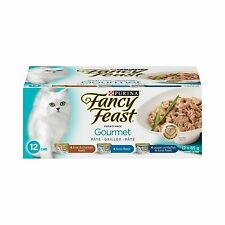 Purina Fancy Feast Gourmet Cat Food Variety Pack 12-85g Cans