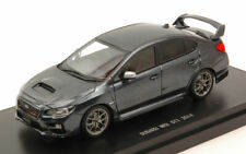 SUBARU WRX STI 2014 DARK GREY 1:43 AUTO STRADALI EBBRO SCALA MODEL