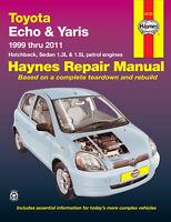 Toyota Echo NCP10/12, Yaris NCP90/91/93 1999-2011 Repair Manual