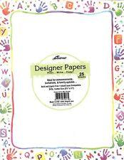 Alphabet Letters Handprint Handprints Designer Computer Paper New In Package